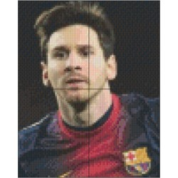 Tablou Personalizat Messi | Pixel Hobby | Pixel Art by Roselini